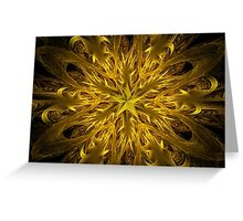 Exploding Star Greeting Card