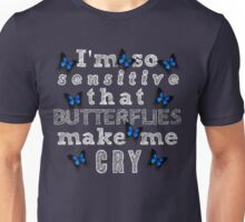 Life Is Strange - Butterflies Make Me Cry Unisex T-Shirt