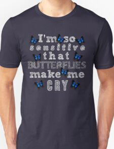 Life Is Strange - Butterflies Make Me Cry T-Shirt