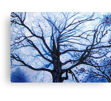 'Tree in Fog' Canvas Print