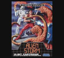 Alien Storm Mega Drive Cover One Piece - Long Sleeve