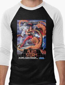 Alien Storm Mega Drive Cover Men's Baseball ¾ T-Shirt
