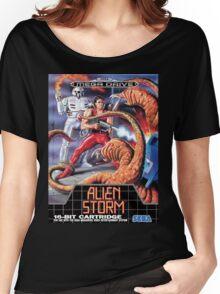 Alien Storm Mega Drive Cover Women's Relaxed Fit T-Shirt