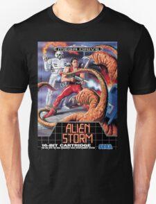 Alien Storm Mega Drive Cover T-Shirt