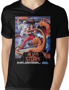 Alien Storm Mega Drive Cover Mens V-Neck T-Shirt