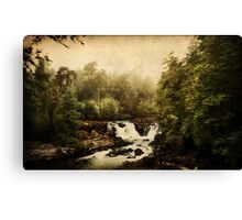 Once upon a time.. a waterfall Canvas Print