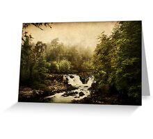 Once upon a time.. a waterfall Greeting Card