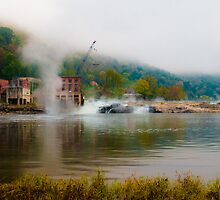 Kanawha Falls by Jeanne Sheridan