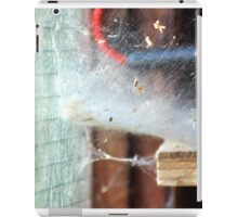 Web in the shed iPad Case/Skin