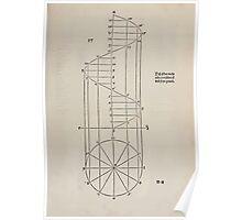 Measurement With Compass Line Leveling Albrecht Dürer or Durer 1525 0021 Spiral Poster