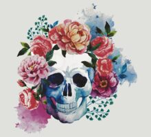 Flower Skull by metroymedio