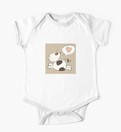 Pit Bull Love One Piece - Short Sleeve