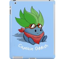 Captain Oddish Sketch iPad Case/Skin