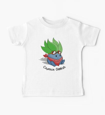 Captain Oddish Sketch Baby Tee