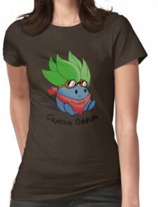 Captain Oddish Sketch Womens Fitted T-Shirt