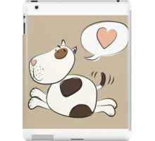 Pit Bull Love iPad Case/Skin