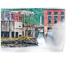 1899 Glen Ferris Hydroelectric Plant Poster