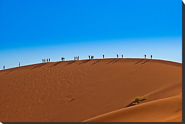 On a giant sand dune by Konstantinos Arvanitopoulos