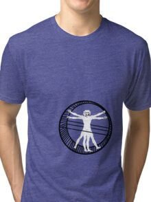 vetruviano hamster wheel Tri-blend T-Shirt