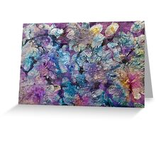 Mother-of-Pearl-Pearlescent paint  Greeting Card
