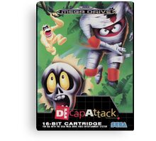 DeCap Attack Mega Drive Cover Canvas Print