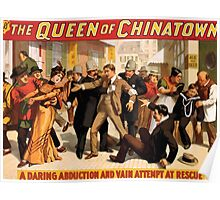 Poster 1890s  …trialsanderrors The Queen of Chinatown by Joseph Jarrow Broadway poster 1899 (1) Poster