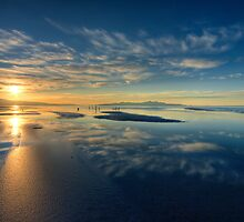 Blue Sunset by Clayhaus