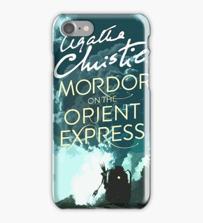 Mordor on the Orient Express iPhone Case/Skin