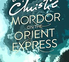 Mordor on the Orient Express by sirllamalot