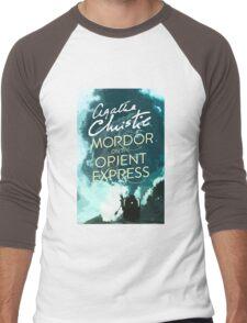 Mordor on the Orient Express Men's Baseball ¾ T-Shirt