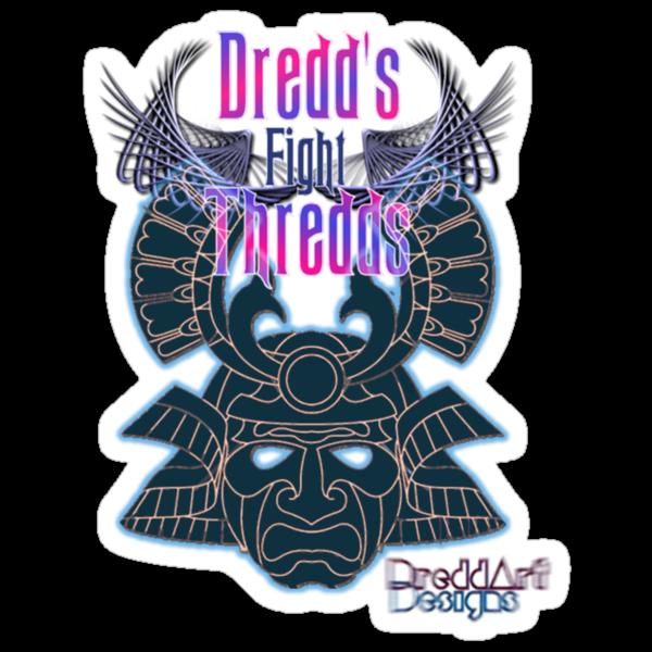Exclusive Dredds Fight Thredds Design by DreddArt