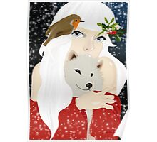 She is the reason for Winter Poster