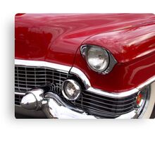 Red Cadillac Canvas Print