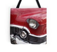 Red Cadillac Tote Bag
