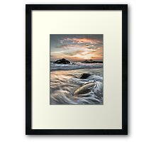 Relentless Flow Framed Print
