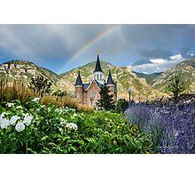 Provo City Center LDS Temple Photographic Print