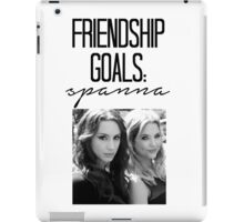 Friendship Goals: Spanna iPad Case/Skin
