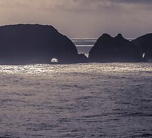 Shag Rock and Three Arches Rock 1 - ST by Zigzagmtart
