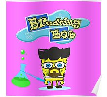Sponge-bob // Breaking-bad Poster
