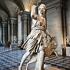 Statue - Museum Louvre, Paris. by Charuhas  Images