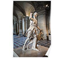 Statue - Museum Louvre, Paris. Poster