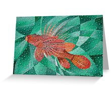 Lion Fish (Pterois) Greeting Card