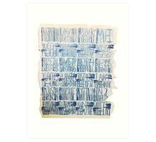 Linoleum Art Print