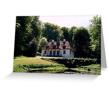Liselund Gammel Slot Greeting Card