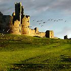 Dunstanburgh an Ancient Runway by Bootkneck