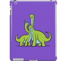 Dinosaur Growth Chart (Green) iPad Case/Skin
