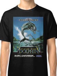 Ecco the Dolphin Mega Drive Cover Classic T-Shirt