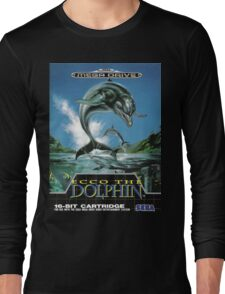 Ecco the Dolphin Mega Drive Cover Long Sleeve T-Shirt