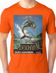 Ecco the Dolphin Mega Drive Cover Unisex T-Shirt