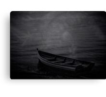 The Haunted Rowboat Canvas Print